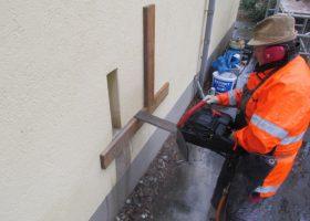 Beton-, Bohr- und Fräsarbeiten